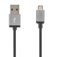 DELTACO Prime Micro USB kaapeli 2m musta
