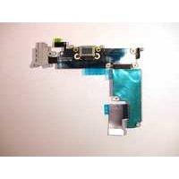 iPhone 6 Plus Latausportti flex-kaapeli + kuulokeliitäntä + mikrofoni - Harmaa