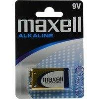 Maxell paristo 9V (6LR61) Alkaline 1-pakkaus