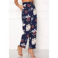 BUBBLEROOM Barbara trousers Blue / Dotted