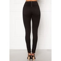 Pieces Highwaist Soft Jeggings Black