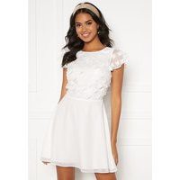 BUBBLEROOM Fioli flower dress White