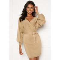BUBBLEROOM Hannie knitted dress Beige