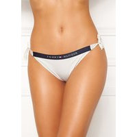 TOMMY HILFIGER Cheeky Side Tie Bikini YBR White 658-170