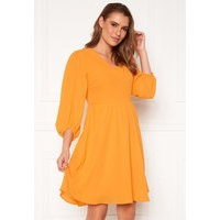 SELECTED FEMME Zix 3/4 Short Dress Radiant Yellow