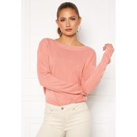 ONLY Amalia L/S Boatneck Pullover Blush