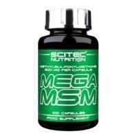 Mega MSM, 100 caps, Scitec Nutrition