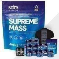 Supreme Mass 4 kg + Bonusprodukt!, Star Nutrition