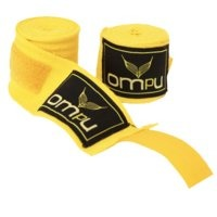 OMPU Handwraps, stretch/lycra, 4m, keltainen, OMPU Gear