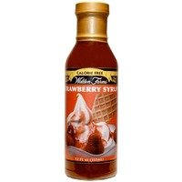 Strawberry Syrup, 355ml, Walden Farms