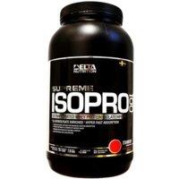 Supreme ISO PRO 100, 900 g, Strawberry, Delta Nutrition