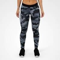 Camo long tights, grey camo print, S, Better Bodies Women