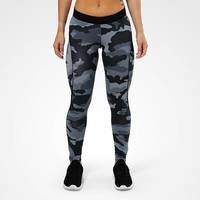 Camo long tights, grey camo print, L, Better Bodies Women