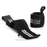 Elastic Wrist Wraps, Black, Better Bodies Gear