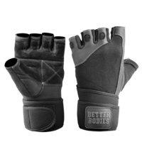 Pro Wrist Wrap Glove, black, M, Better Bodies Men