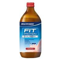 Fit Protein, 500 ml, Mansikka, Multipower