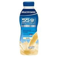 Protein shake 55 g, 500 ml, Jordgubb, Multipower