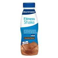 Fitness Shake Low Carb, 330 ml, Mansikka, Multipower