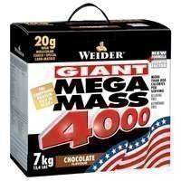 Mega Mass 4000, 7 kg, White Chocolate Pralin, Weider
