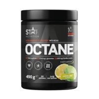 Octane, 490g, Green Apple Explosion, Star Nutrition