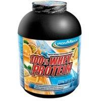 100% Whey Protein, 900 g, Vadelma, IronMaxx