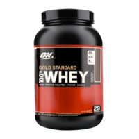 100% Whey Gold Std, 909 g, Double Rich Chocolate, Optimum Nutrition