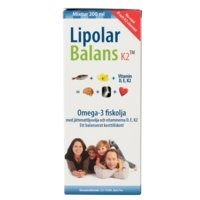 Lipolar Balans K2, 200 ml, Alpha Plus