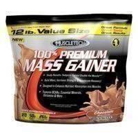 100% Premium Mass Gainer, 5.5kg, Vanilla