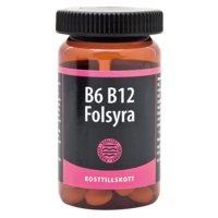 B6 B12 Foolihappo, 90 tablettia