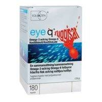 Eye Q Chews Purutabletti Mansikka, 180 kapselia, IQ Medical