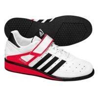 Power Perfect II, White, strl 48, Adidas Shoes