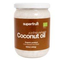 Kookosöljy Extra Virgin, 450ml, Superfruit