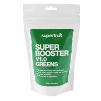 Super Booster V1 Greens, 200 grammaa, Superfruit