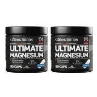2 x Magnesium, 90 caps, Star Nutrition