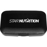 PillMaster box, Star Nutrition, Black, Star Nutrition Gear