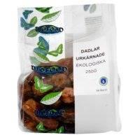 Dadlar Urkärnade, 250 g, Biofood