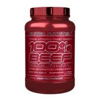 100% Beef Concentrate, 1000 g, Raspberry Cream, Scitec Nutrition
