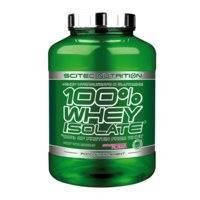 100 % Whey Isolate, 2000 g, Vanilla, Scitec Nutrition