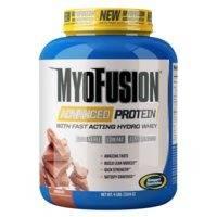 Myofusion Advanced, 1,8 kg, Strawberries & Cream, GASPARI