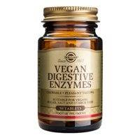 Ruoansulatusentsyymi Vegan , Pureskelutabletti, 50 tablettia