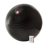 Fitness Ball 75 cm, black, FightBack