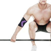Rx Elbow Support 5 mm, Black/Purple, XS