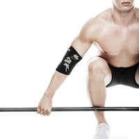 Rx Elbow Support 5 mm, Black/Camo, M