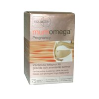 Mumomega Pregnancy, 75 kapselia, IQ Medical
