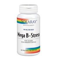 Solaray Mega B-Stress, 60 kapselia