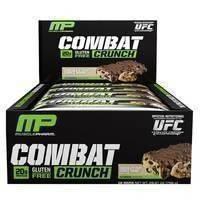 12 x Combat Crunch bar, 63 g, MusclePharm