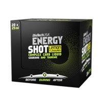 20 x Energy Shot, 25 ml, Biotech USA