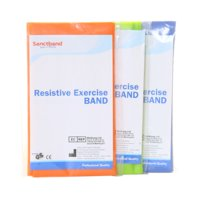 3-pack Resistive Exercise Band, Sanctband
