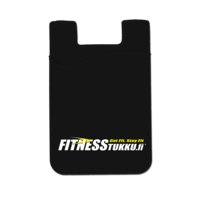 Fitnesstukku Silicone Card Holder, Black, FITNESSTUKKU