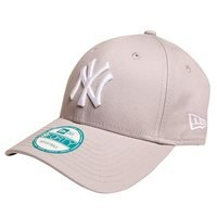 940 League Basic, New York Yankees, Gray, One Size, New Era